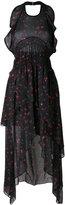 IRO floral print pleated dress - women - Viscose - 36