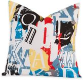 Crayola Dream On 18-Inch Square Throw Pillow