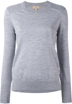 Burberry - ribbed detail jumper -