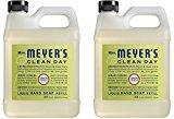 Mrs. Meyer's Mrs. Meyers Liquid Hand Soap Refill Lemon Verbena 33 Ounces (Pack of 2)