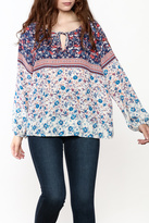 Sanctuary Ivy Boho Printed Top
