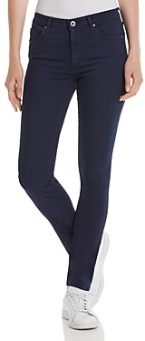 AG Jeans Prima Mid-Rise Skinny Jeans in Deep Trenches