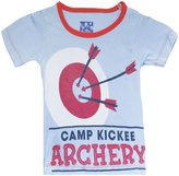 Kickee Pants Piece Print Tee (Baby) - Pond Archery-Newborn