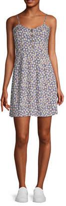 Arizona Juniors Sleeveless Floral Fit & Flare Dress