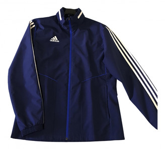 adidas Blue Synthetic Jackets