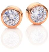 Michael Kors Park Avenue Glam Jeweled Stud Earrings/Rose Goldtone