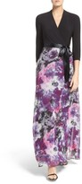 Chetta B Women's Mixed Media Gown