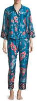 Natori Xanado Paisley-Print Pajama Set