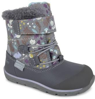 See Kai Run Baby's, Little Girl's & Girl's Gilman Faux Fur-Trim Winter Boots