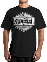 Famous Stars & Straps Men's Top Marble Graphic T-Shirt-3XL