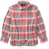 Ralph Lauren 2-6X Cotton Flannel Shirt