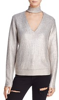 Bailey 44 A-List Metallic Cutout Sweater