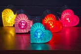 Goodwin & Goodwin Small Fairground Heart Light Lamp
