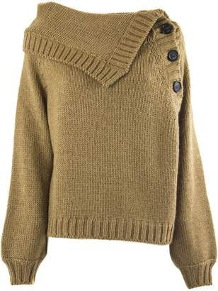 N°21 N.21 Camel-tone Wool And Mohair Blend Sweater