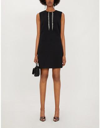Pinko Misurare sleeveless stretch-crepe mini dress