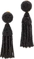 Oscar de la Renta Classic Short Tassel Earrings