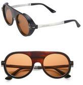Giorgio Armani 2MM Round Horn Sunglasses
