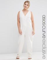 Asos Casual Jumpsuit with Button Front