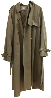 The Row Green Cotton Trench coats