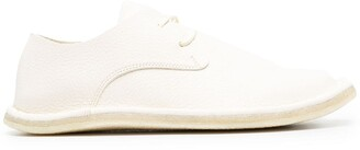 Trippen Square-Toe Leather Lace-Up Shoes