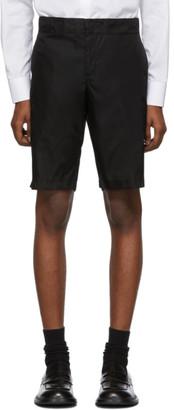 Prada Black Nylon Gabardine Shorts