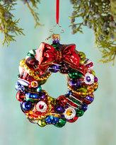 Christopher Radko Joyful Wreath Christmas Ornament