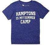 "Little DiLascia ""Hamptons Is My Summer Camp"" Jersey T-Shirt"