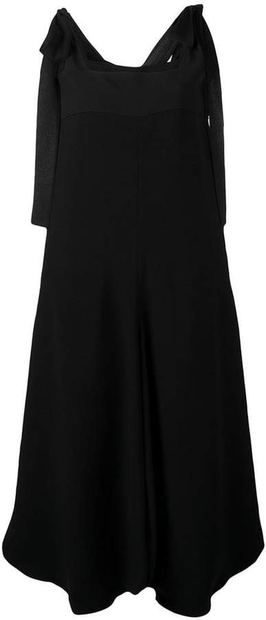 Chloé bow shoulder jumpsuit