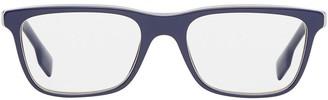 Burberry Eyewear Icon Stripe Detail Rectangular Optical Frames