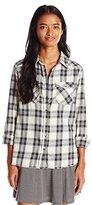 Billabong Juniors Flannel Frenzy Plaid Shirt