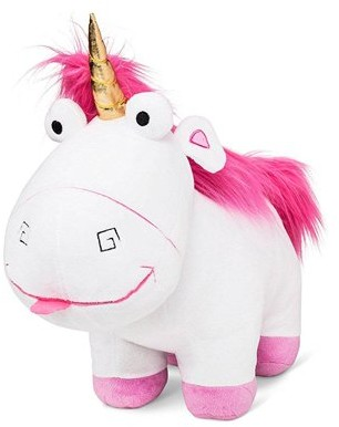 "Despicable Me Fluffy the Unicorn Kids Plush Pillow Buddy, 21"" x 17"""