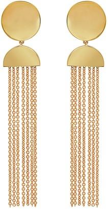 Established Half Moon Chain Earrings