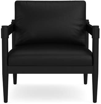 Williams-Sonoma Georgia Leather Occasional Chair