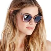 Sole Society Lorimer Wood Oversized Sunglasses