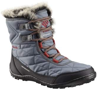 Columbia Minx Shorty III Waterproof Faux Fur-Trimmed Boots