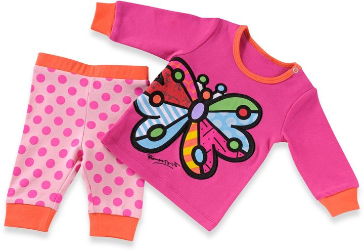 Bed Bath & Beyond Britto™ Baby Size 18 Months Butterfly Play Set in Hot Pink