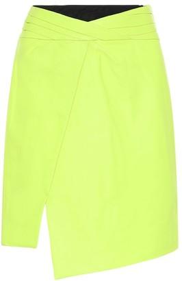 RtA Evie leather skirt