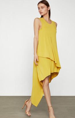 BCBGMAXAZRIA High-Low Jersey Dress