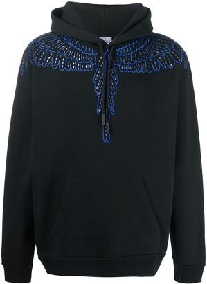 Marcelo Burlon County of Milan Wings print long-sleeved hoodie