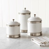 Williams-Sonoma Williams Sonoma Williams Ceramic Canisters, Set of 3