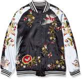 Pete & Greta By Johnny Was by Johnny Was Women's Reversible Embroidered Bomber Jacket