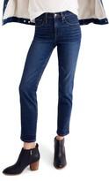 Madewell Women's High Waist Slim Straight Leg Jeans