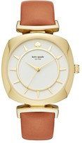 Kate Spade Women's Barrow Leather Strap Watch, 34Mm