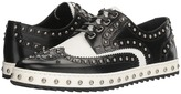 Dolce & Gabbana Studded Wingtip Oxford Men's Lace up casual Shoes