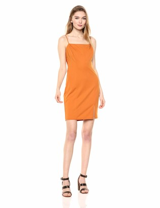 ASTR the Label Women's Blake Sleeveless Stretch Cut Out Short Mini Dress