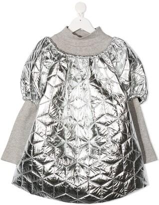 Andorine TEEN oversized puffer dress