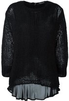 Twin-Set layered jumper