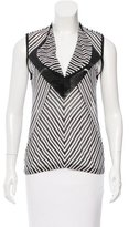 Givenchy Striped Sleeveless Top