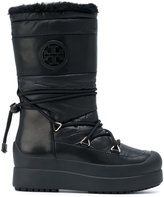 Tory Burch lace up moon boots