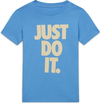 Nike Girls 7-16 Just Do It Reveal Tee